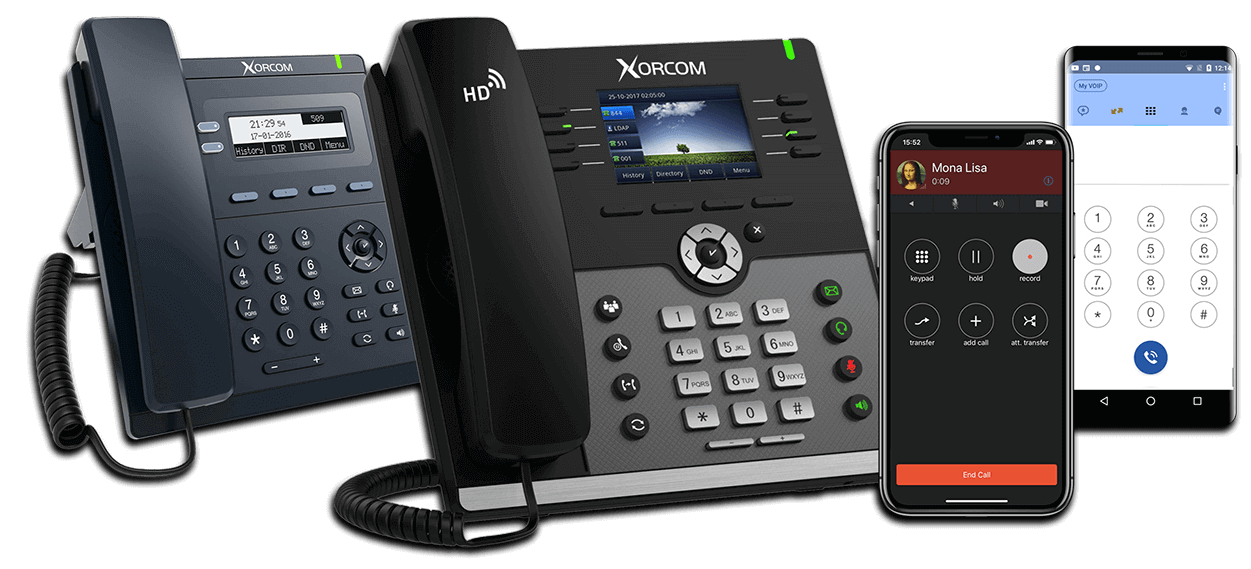 IP PBX & IP Phones